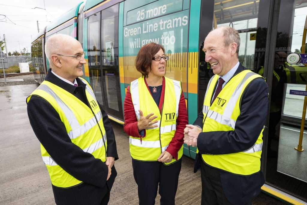 26 Green Line Trams Has Been Extended And Is Now In Passenger Service
