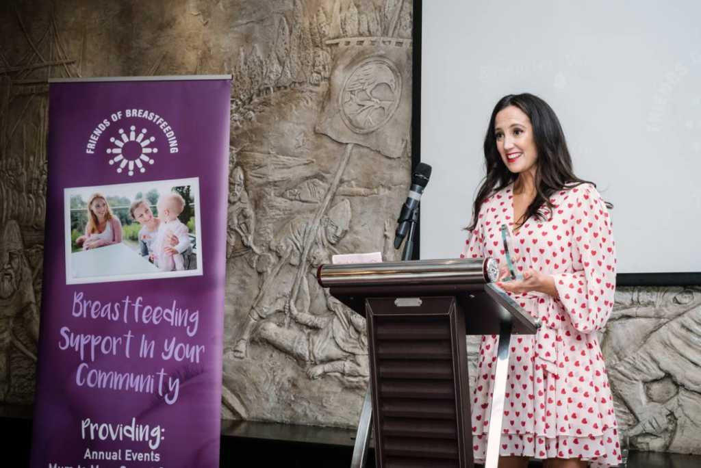 Ciara Wheelan At Friends Of Breastfeeding Awards