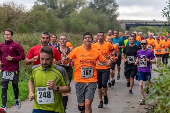 Fastlane 10K and Half Marathon.