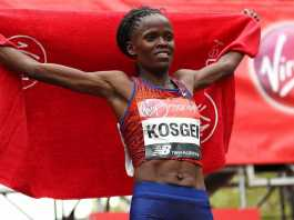 Kenyan Brigid Kosgei Breaks The Marathon World Record