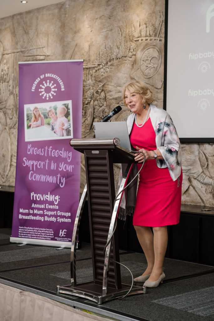 Sabina Higgins, at Friends of Breastfeeding Awards