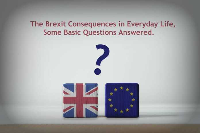The Brexit Consequences In Everyday Life