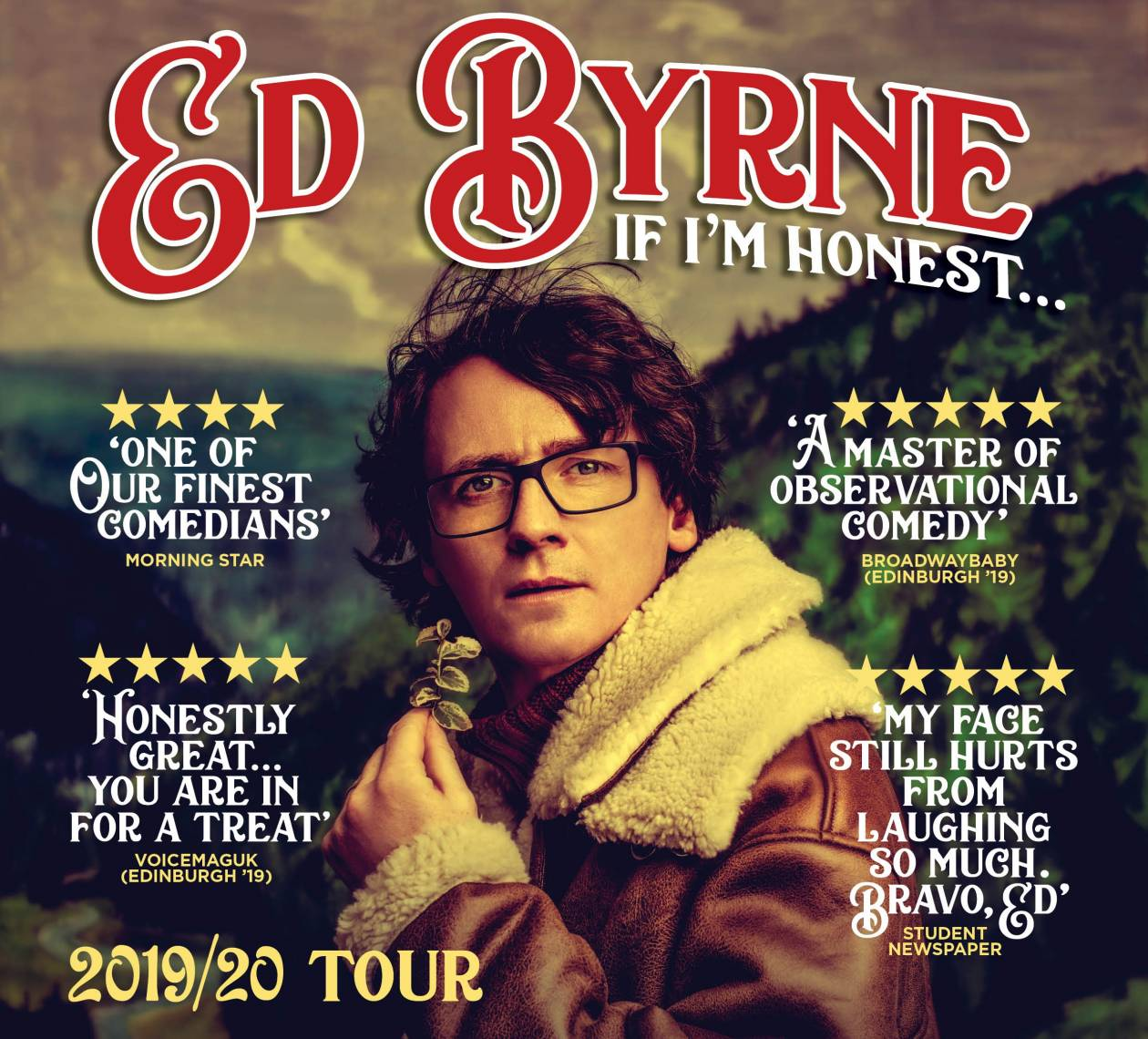 Ed Byrne Confirms 2020 Nationwide Tour