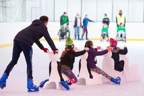 South Dublin On Ice skates back into town