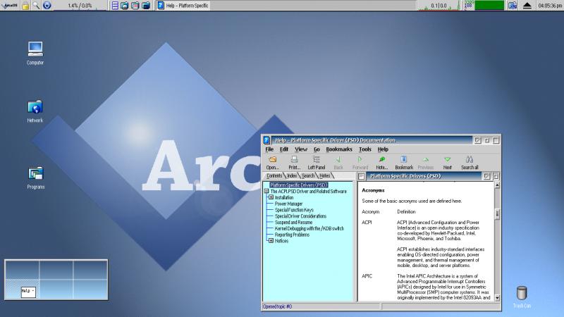 ArcaOS - Alternatives to Windows
