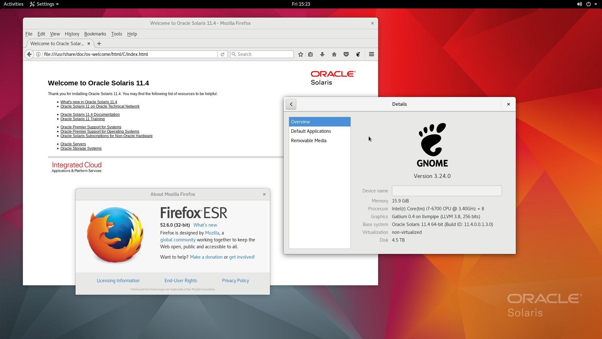 Solaris - Alternatives to Windows