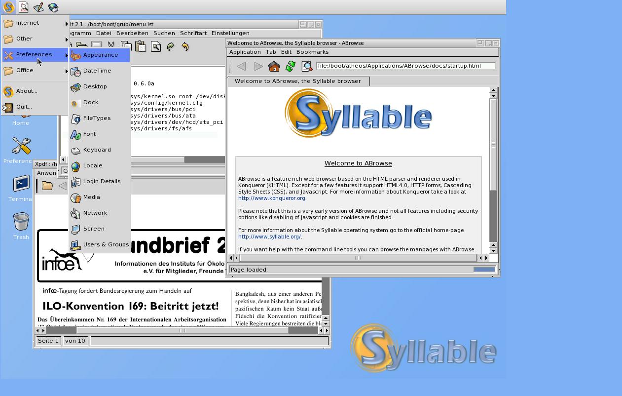 Syllable - Alternatives to Windows