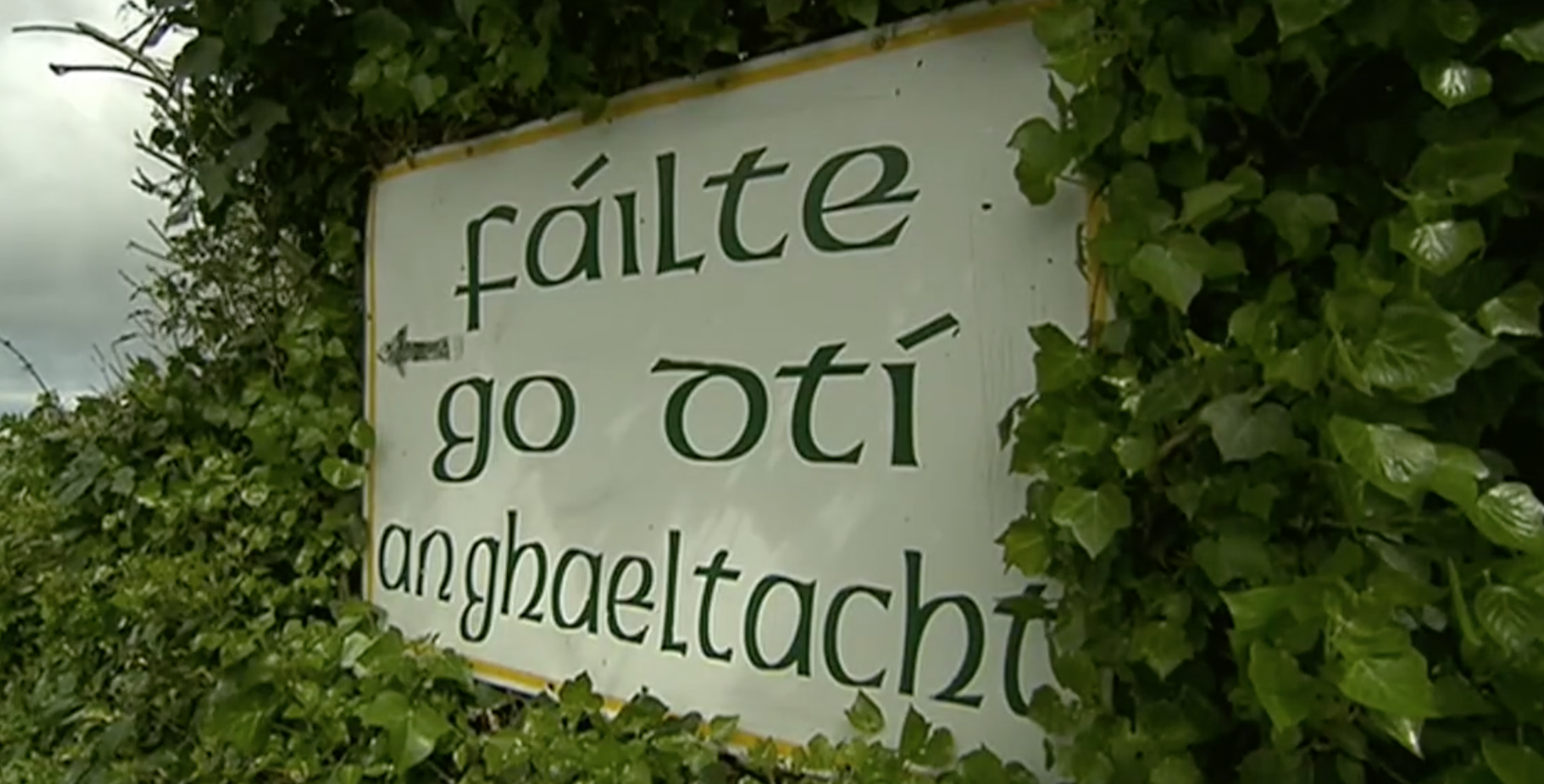 Irish language concerns in Rathcairn and approval given for hotel development and housing scheme