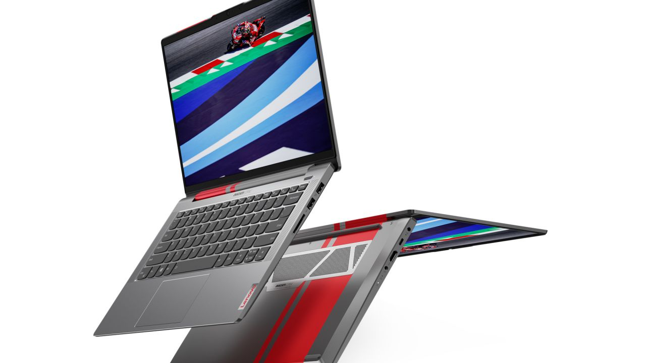 Lenovo brings the notebook inspired by Ducati design to Italy: starting from 999 Euros