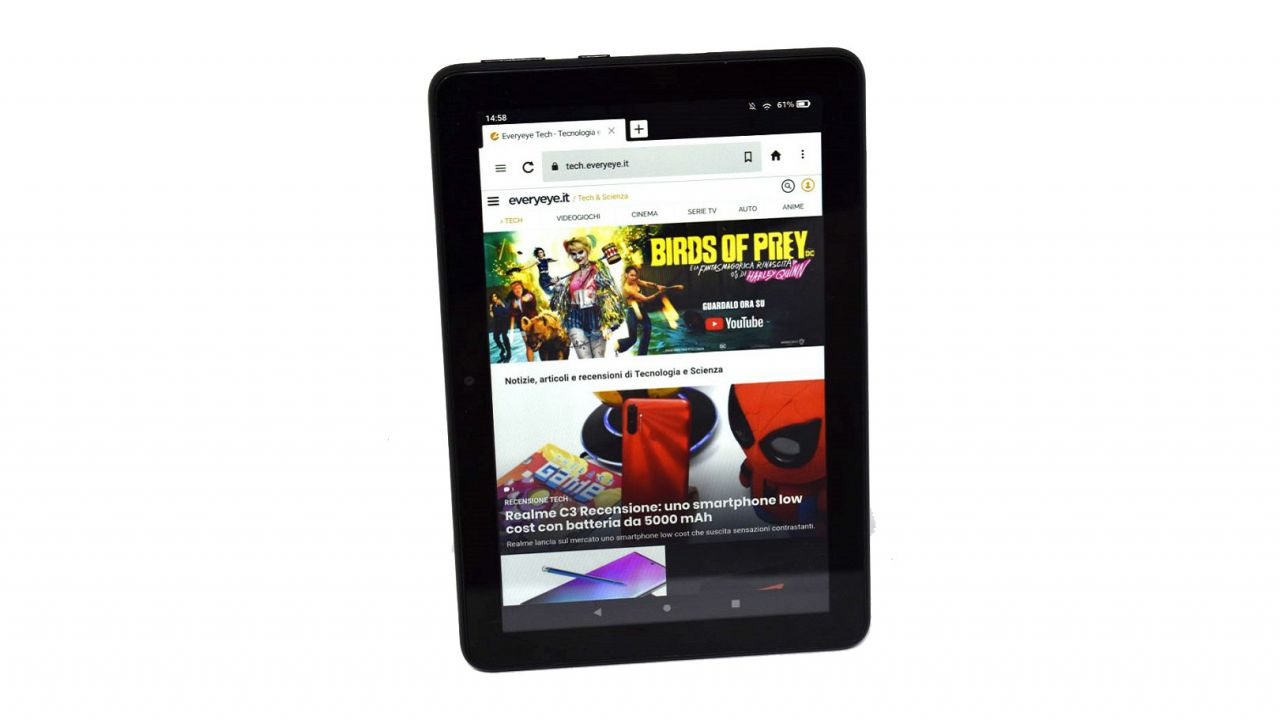 Amazon Fire HD 8 2020 review Review: an excellent Android tablet under 100 euros