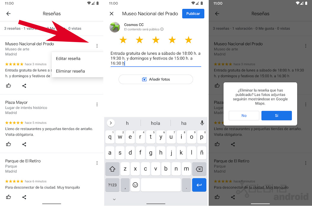 How to see all your Google Maps reviews