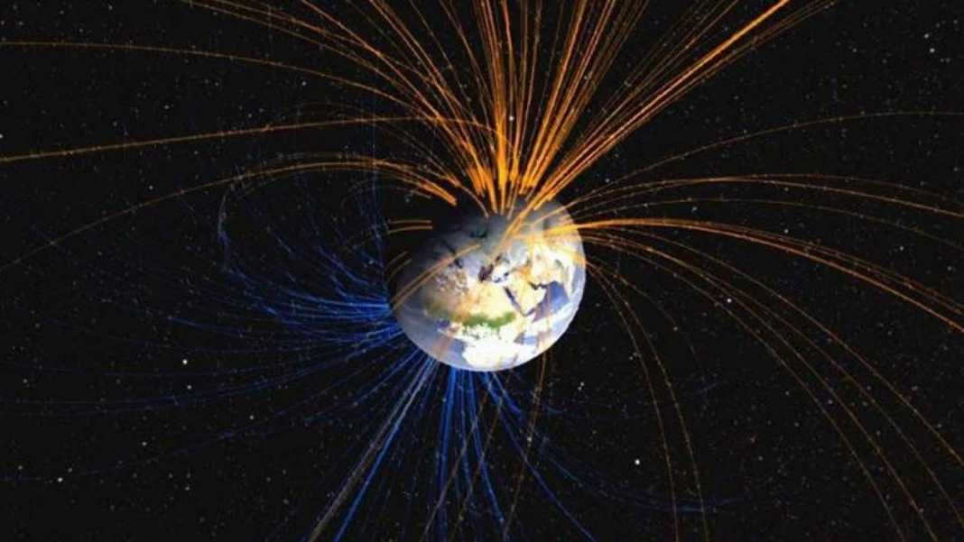 Earth's magnetic field could reverse 10 times faster than expected