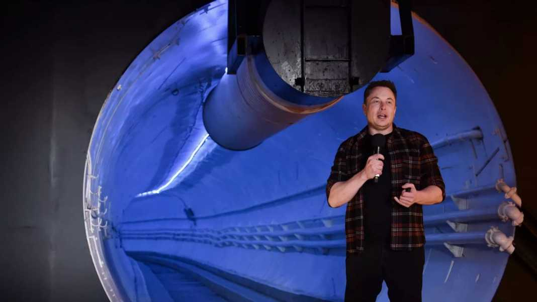 Elon Musk: 'I started The Boring Company as a joke, now tunnel'