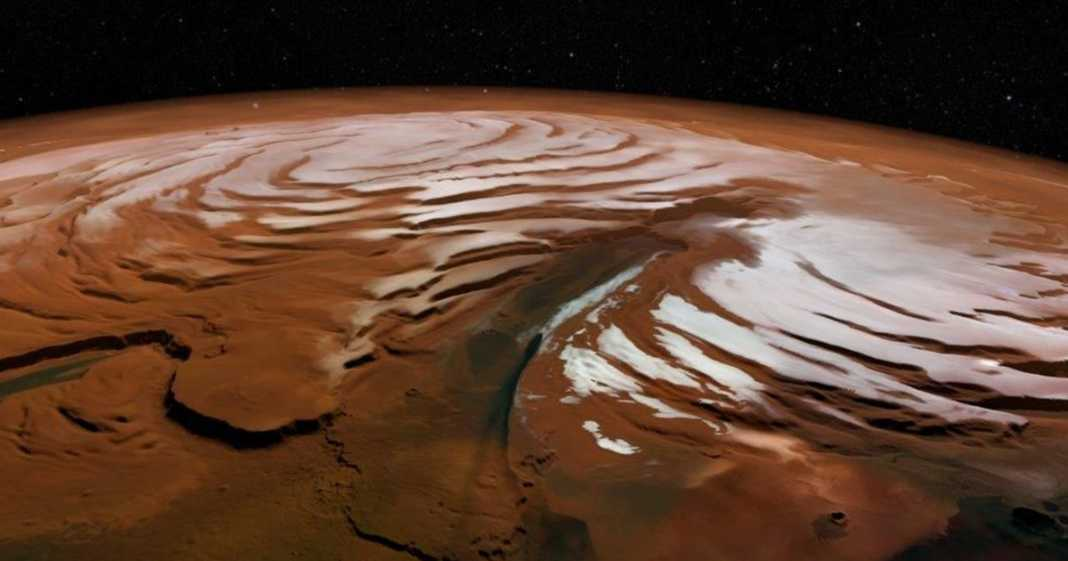 On The Surface Of Mars There Are Moving Sand Dunes
