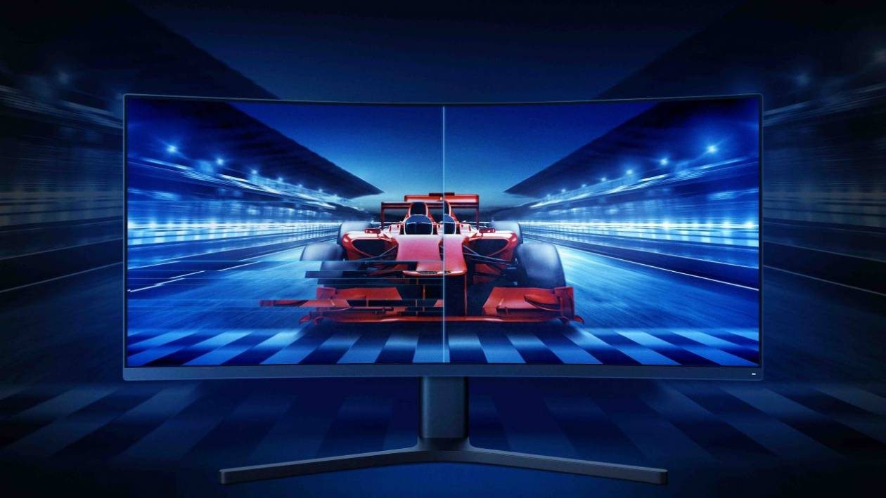 Xiaomi brings the 34 'curved gaming monitor to Italy for only 449 Euros!