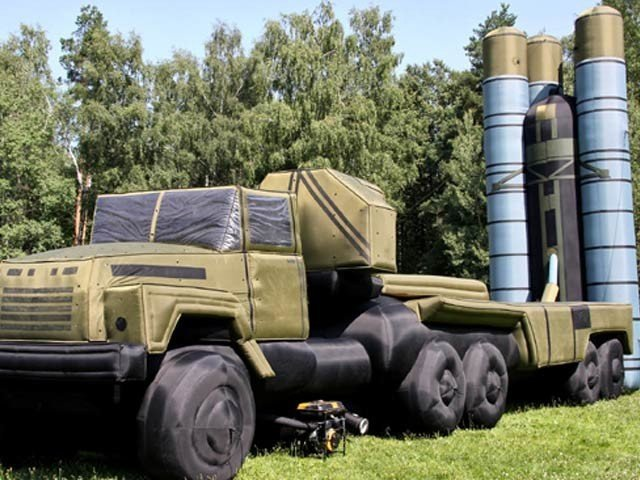 Russian forces regularly use inflated rockets, missiles and tanks.  Photo: File