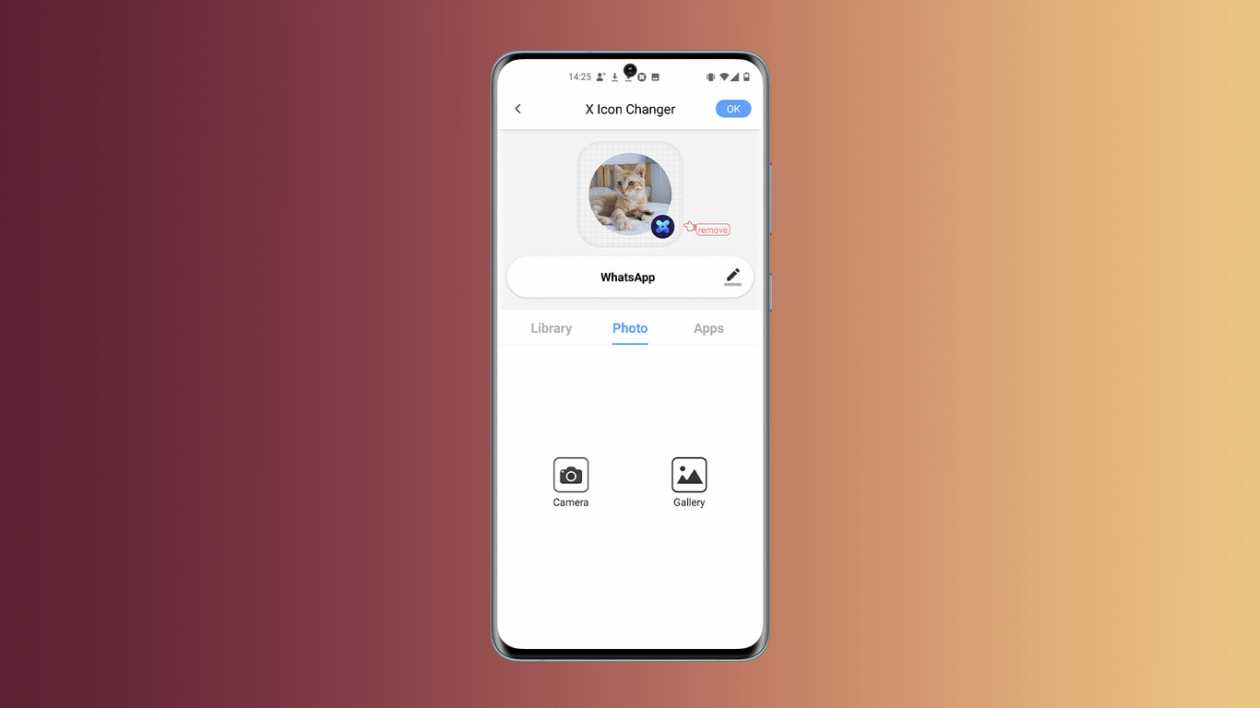 How to create icons for apps using photos from your gallery