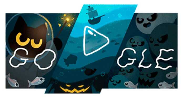 New Google game for Halloween: do magic with the cat to defeat the ghosts