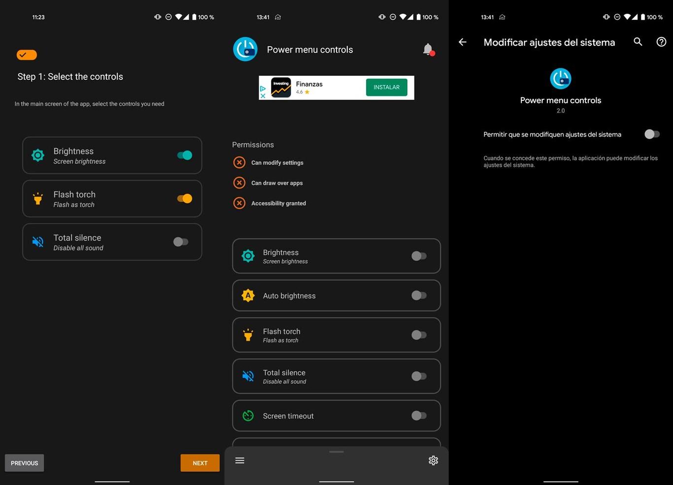Customize Menu Off Android 11