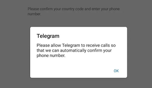 You can create a temporary number to be able to use Telegram easily and simply.  (Photo: Telegram)