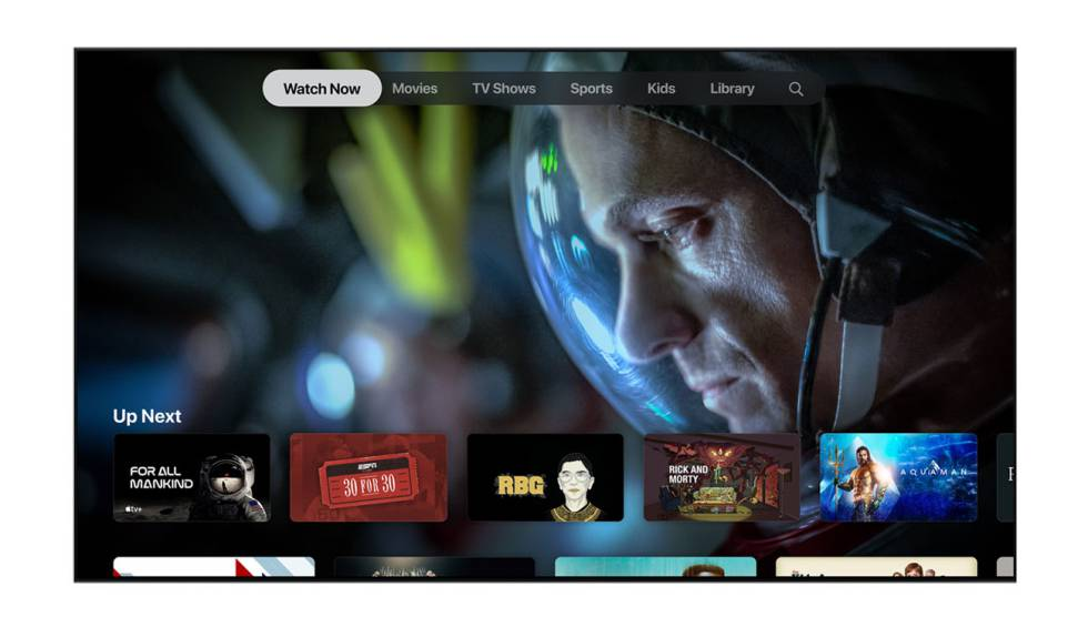 Apple TV + renews the design of its web version for Android mobiles