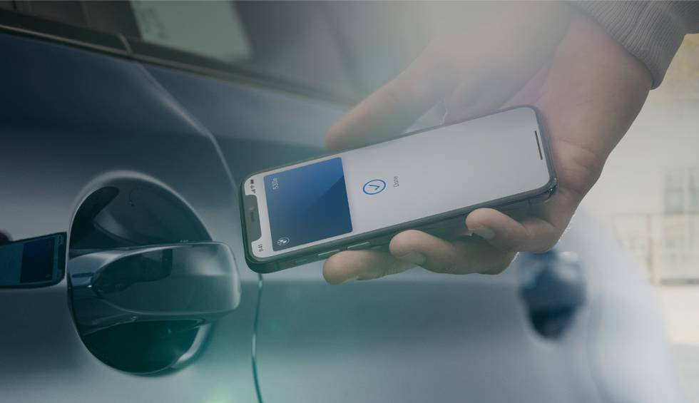 BMW will allow you to unlock your cars with the iPhone and the Car Key system