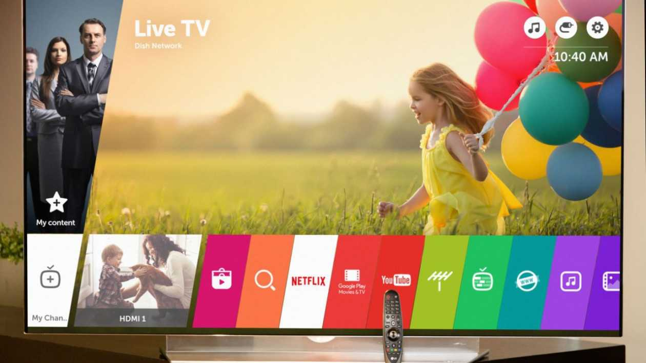 LG webOS, the company opens its operating system for TVs to third parties