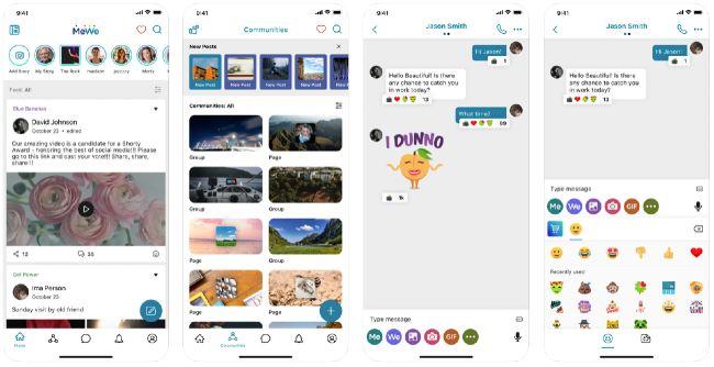 MeWe social app
