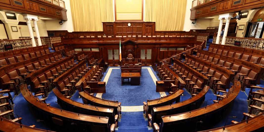 Permission sought to hold a meeting on the Language Bill in the Dáil itself