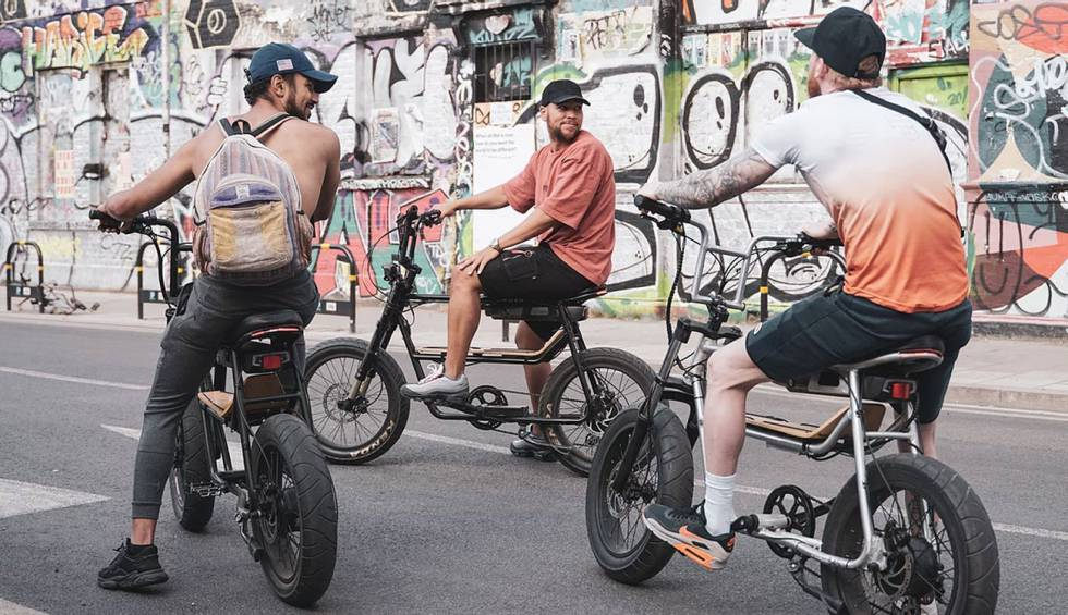 The 345, a compact, powerful electric bike capable of carrying it all