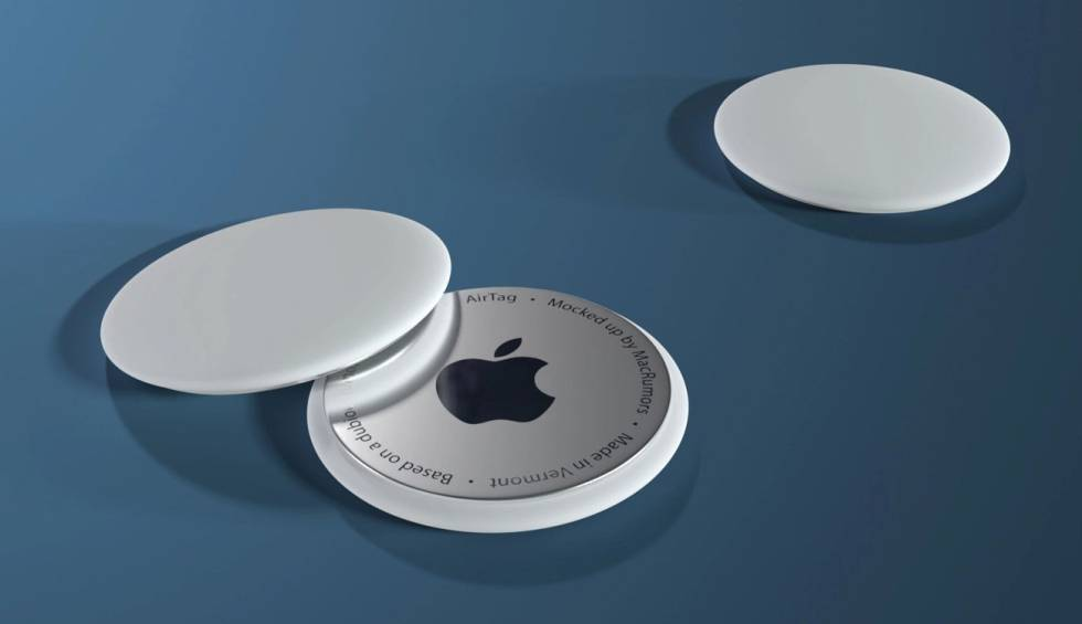 The first real images of Apple AirTags are filtered