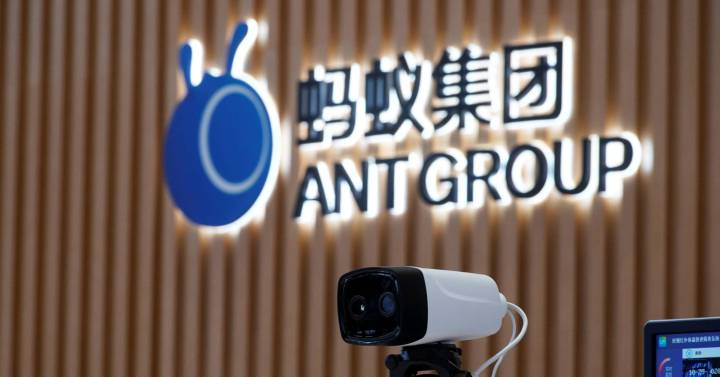 Ant loses, and small Chinese banks lose too