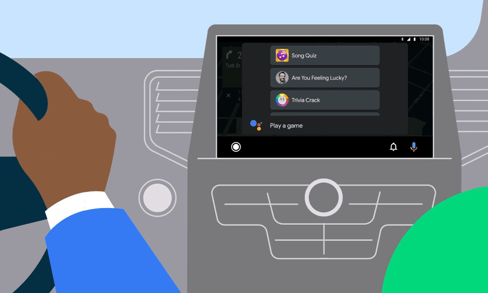 Android Auto Games