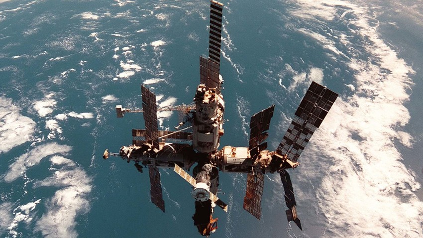 Image result for Mir space station