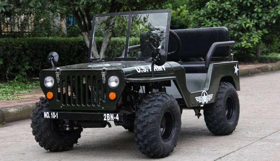 An electric version of the World War II Jeep on Alibaba?  For $ 1,700 you can get one