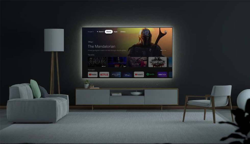 Android TV is updated: now its interface is similar to that of the new Chromecast
