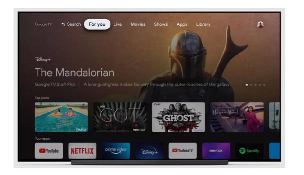 Google TV will launch a 'basic mode' to simplify your user experience