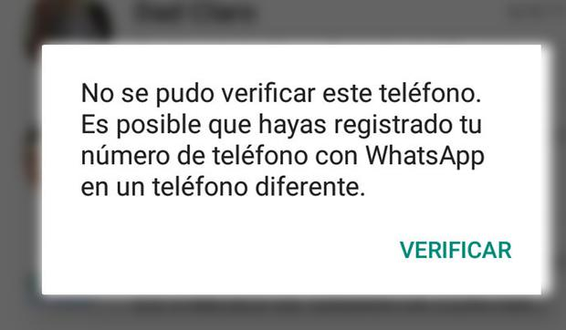This is the text that appears on your WhatsApp when an unknown person has hacked your account.  (Photo: MAG)