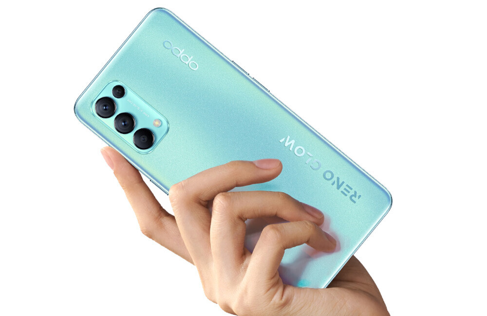 OPPO Reno5 K: Qualcomm brain and full throttle charging for the Reno5 cousin
