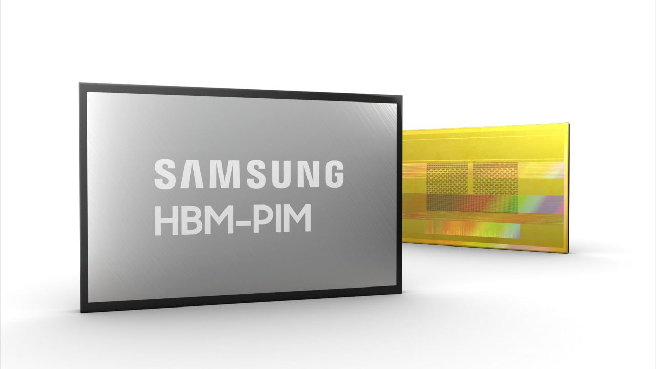 Samsung introduces HBM-PIM, the new type of memory that also works as a CPU