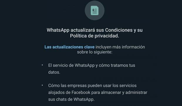 Learn about the functions that you will not be able to perform if you do not accept the new WhatsApp policies. (Photo: MAG)