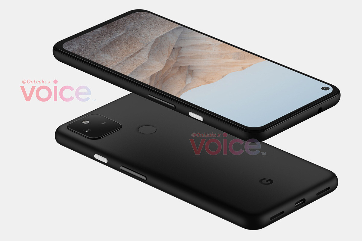 This will be the design of the Google Pixel 5a, according to OnLeaks