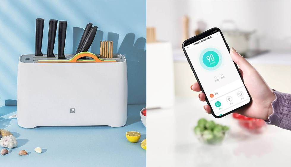 Xiaomi launches a gadget for the kitchen that will dry your cutlery intelligently