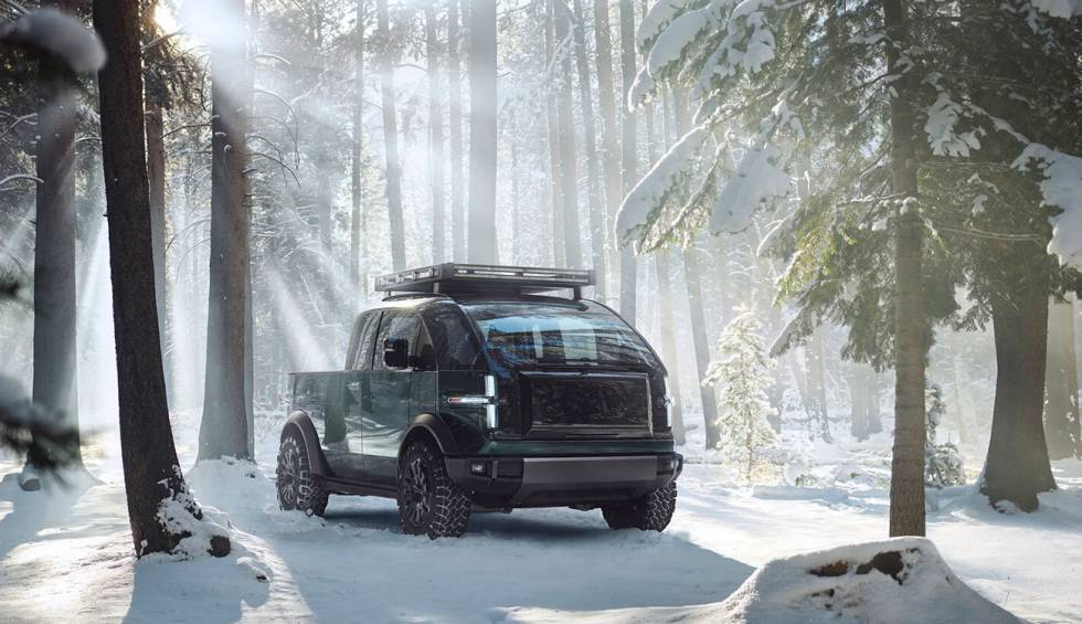 Canoo, the electric 'pickup' that wants to rival the Tesla Cybertruck