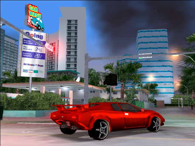 Try GTA Vice City as it was initially conceived