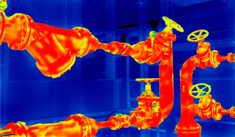 how does a thermal imaging camera actually work
