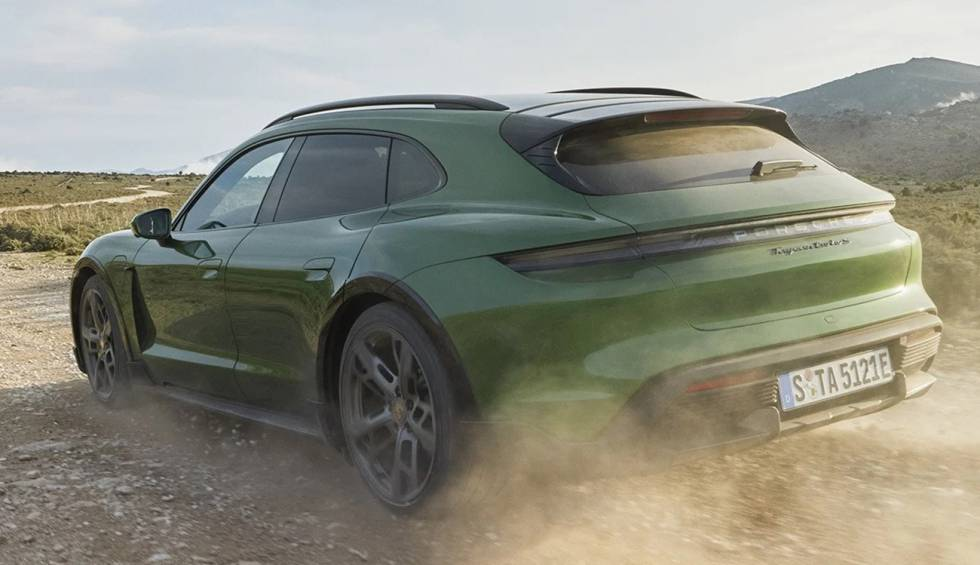 Porsche Taycan Cross Turismo: Porsche's new electric car with 761 hp