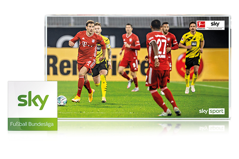 The Sky Bundesliga package is only available in conjunction with Sky Entertainment