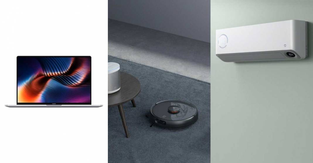 news xiaomi day 2: robot vacuum cleaner, electric car, laptops
