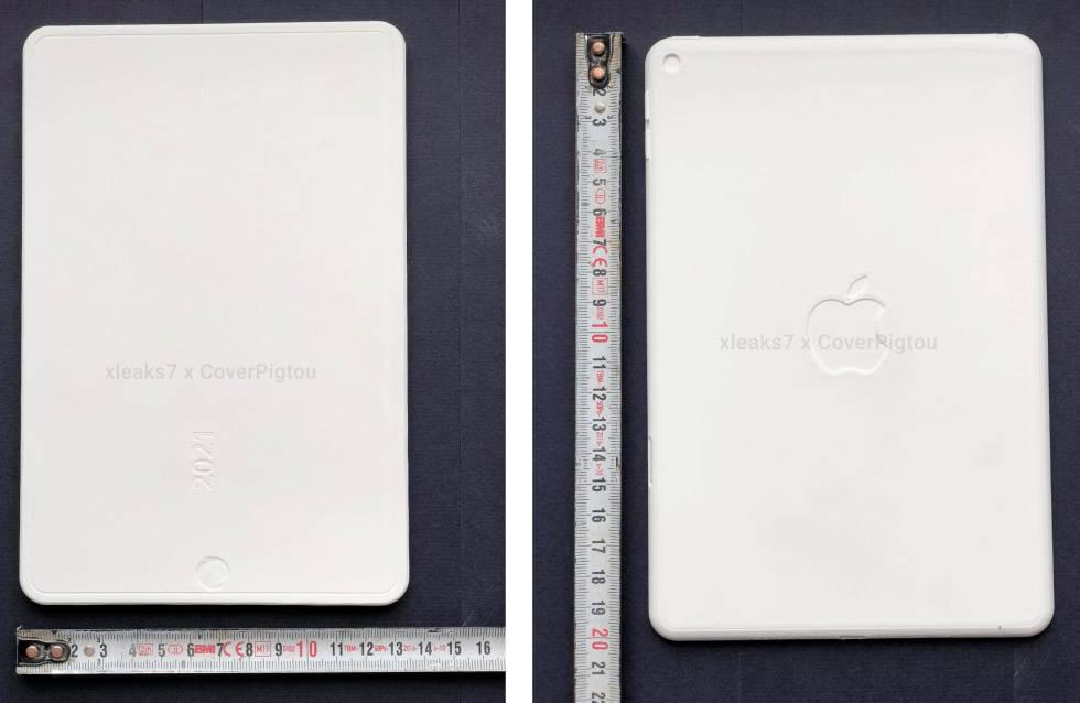 Molds in the shape of the future iPad Mini.